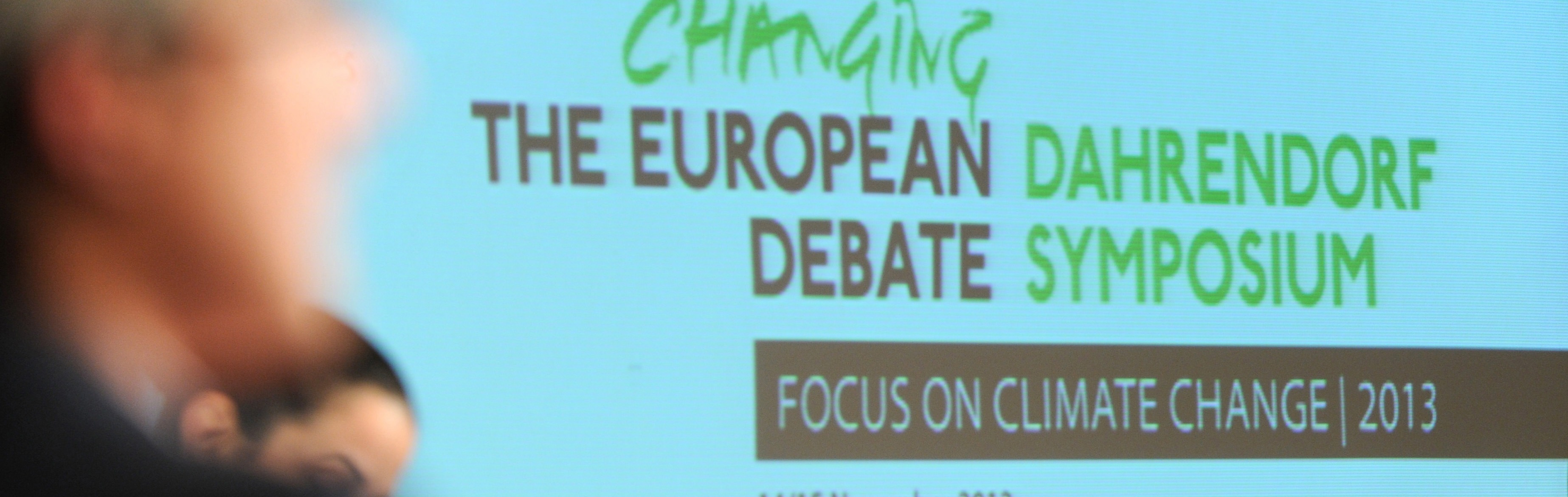 Changing the European Debate Dahrendorfer Symposium der Hertie School of Governance Stiftung Mercator & The London School ofEconomics and Political Science in Berlin Akademie der Künste