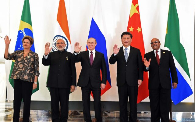BRICS leaders meet at the G20 Summit, 15 Nov 2015