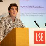 Annegret Kramp-Karrenbauer at LSE, 16 January 2020